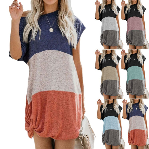Plus Size, Tops & Blouses, Cotton T Shirt, Sleeve