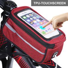 case, mobilephonebag, bagspannier, Bicycle