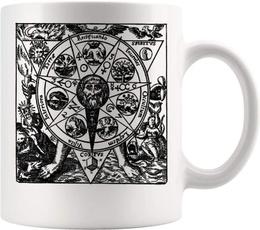 Occult, Funny, Coffee, Magic
