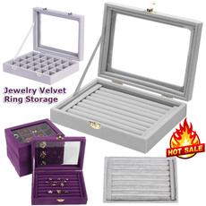 case, Box, styrofoambox, velvet