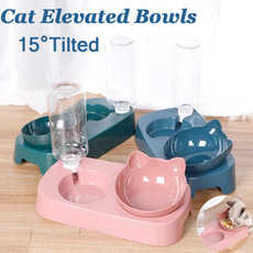 non-slip, 15tilted, Cats, catfoodbowl