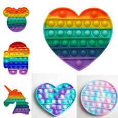 rainbow, Toy, pushuppop, Colorful