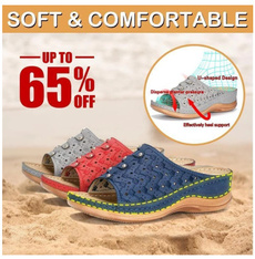 Summer, Sandals, Woman Slipper, Vintage
