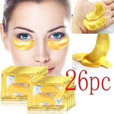 golden, beautymask, eye, Beauty