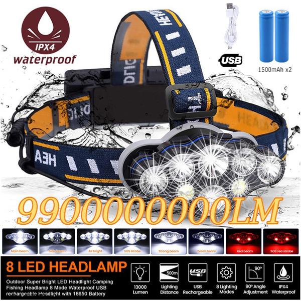 Flashlight, LED Headlights, led, Waterproof