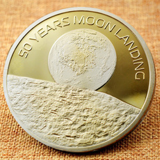 Collectibles, collectiblecoin, Gifts, 50thanniversaryofthemoonlanding