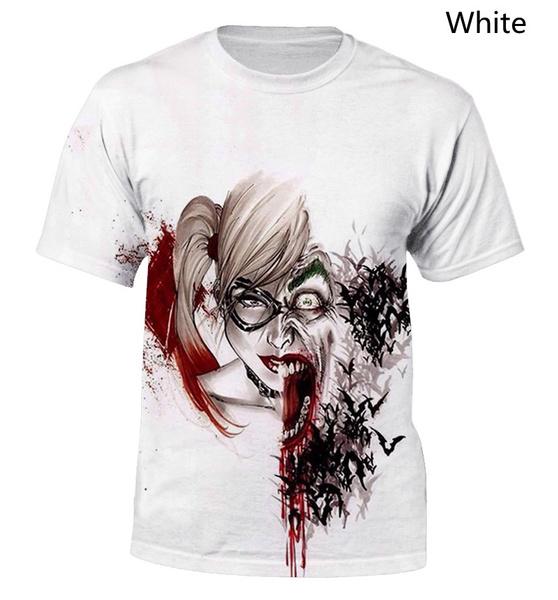 Funny, Fashion, harleyquinn, T Shirts