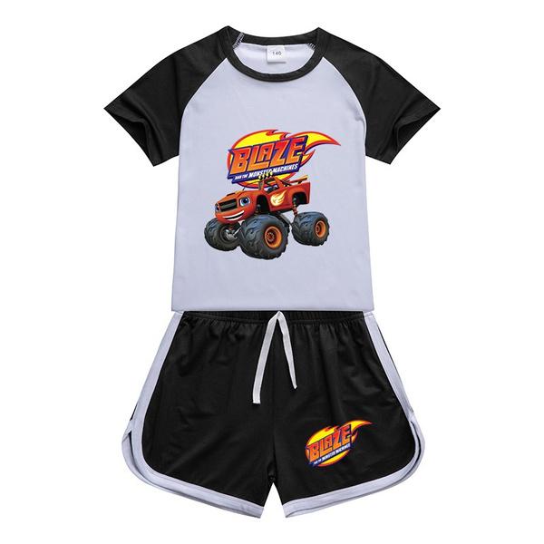 Shorts, Sleeve, summer t-shirts, Boys Fashion