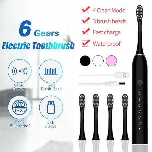 sonic, Head, oralcare, Electric