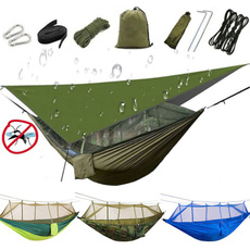 Outdoor, portable, camping, swingbed