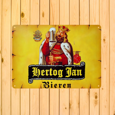 hertogjan, metaldecoration, vintagesignsdecor, Metal