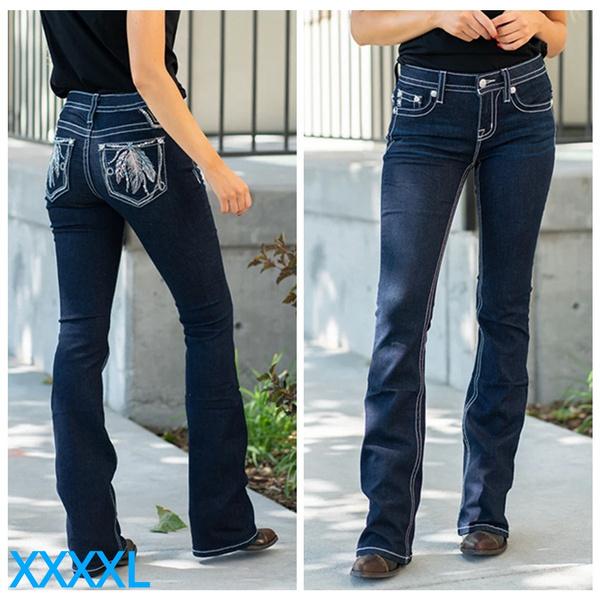 Women, Plus Size, pants, Denim