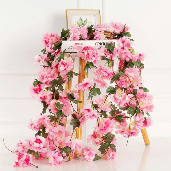 Flowers, Garland, cherryblossom, blossom