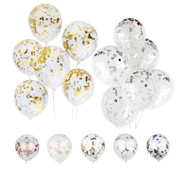 clearballoon, golden, airglitterballoon, Colorful