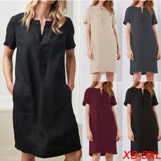 Summer, dressesforwomen, Sleeve, Dresses