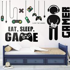 Video Games, Pvc, 3dwallsticker, gamewallsticker