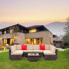 Outdoor, Garden, rattancoffeetableset, Patio Furniture & Accessories