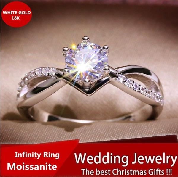White Gold, DIAMOND, Infinity, Jewelry