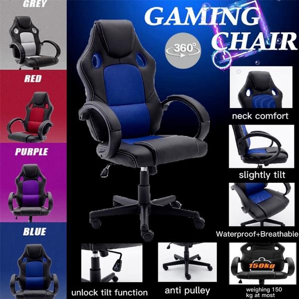 Gaming, swivel, adjustablechair, reclinerchair