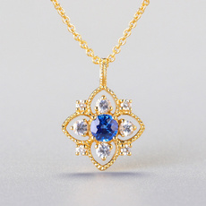 Jewelry, Hollow-out, baroquependant, gold