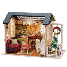 Mini, led, house, diy3ddollhouse