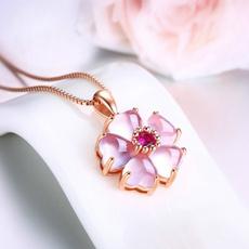 Elegant, quartz, sakurapendant, elegantjewelry