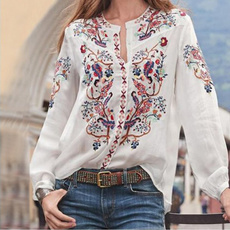 blouse, Fashion, for, Sleeve