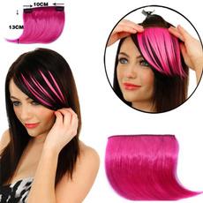 wig, naturalfakebang, colorbang, Hair Extensions