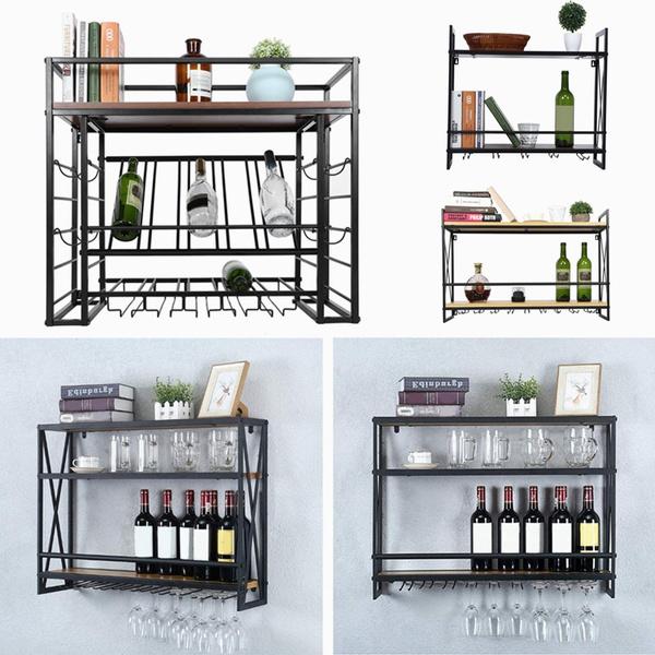 Home Decor, Glass, winestoragerack, winetable