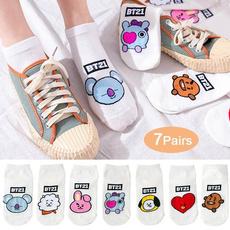 K-Pop, cute, Cotton Socks, Shorts