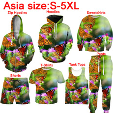 butterfly, Vest, Fashion, slim