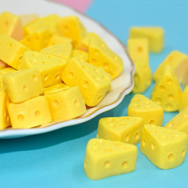 Triangles, Cheese, miniaturetoy, miniaturefood