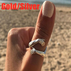 Sterling, adjustablering, Jewelry, 925 silver rings