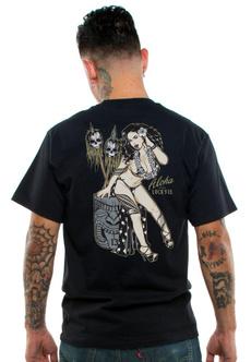 Fashion, Shirt, Hawaiian, roundnecktop