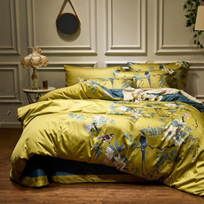 King, Flowers, duvet, Bedding