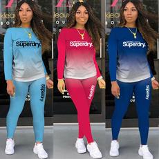 Fashion, 2pcsset, Long Sleeve, superdry
