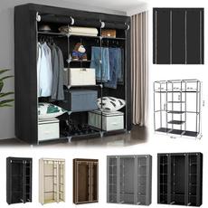 Closet, lights, clothesrack, clothesorganizer