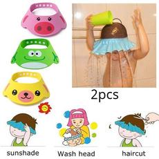 hair, eye, shield, shampoocap