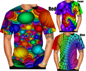 Funny, shortsleevestshirt, womentshir, rainbowvertigotshirt