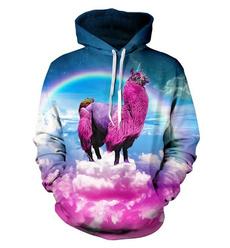 3D hoodies, Casual Hoodie, unisex clothing, 3dhoodedcoat