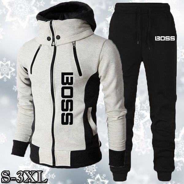 hoodiesformen, hooded, Winter, thickeningcoat