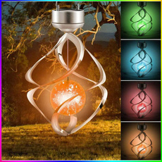 Bell, colorchanging, windbelllight, Outdoor