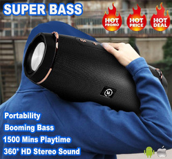 stereospeaker, Outdoor, Bass, Waterproof