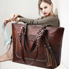 Shoulder Bags, Tassels, Capacity, Totes