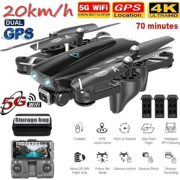 Quadcopter, Remote Controls, Battery, Photography