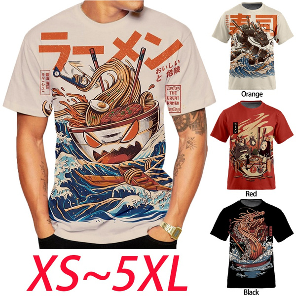 Fashion, Men, short sleeves, Japanese