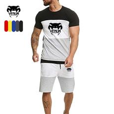 Summer, Beach Shorts, men's cotton T-shirt, roundnecktshirt