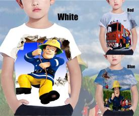 Shorts, 3dprintedkidstshirt, boysshortsleevedshirt, Anime