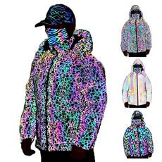 rainbow, Fashion, Winter, outdoorjacket