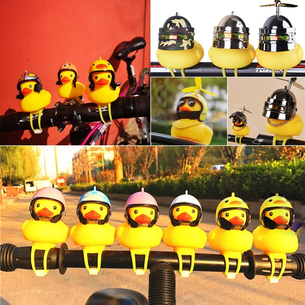 Helmet, littleyellowduckcutecar, Bicycle, Sports & Outdoors